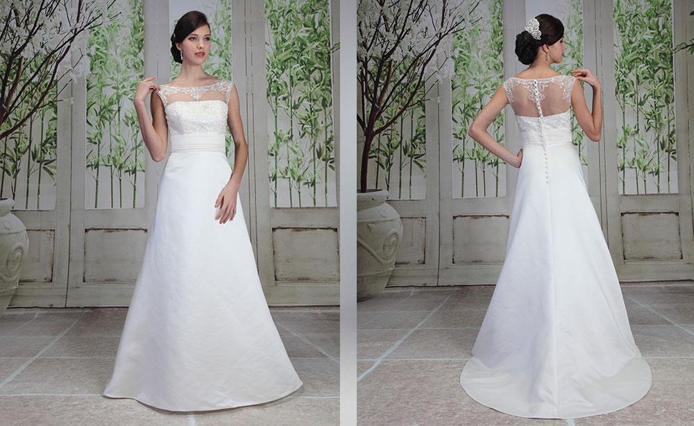 abiti sposa oversize