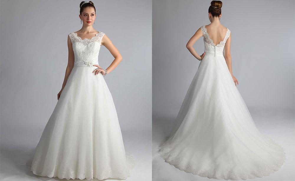 abito sposa taglia grande