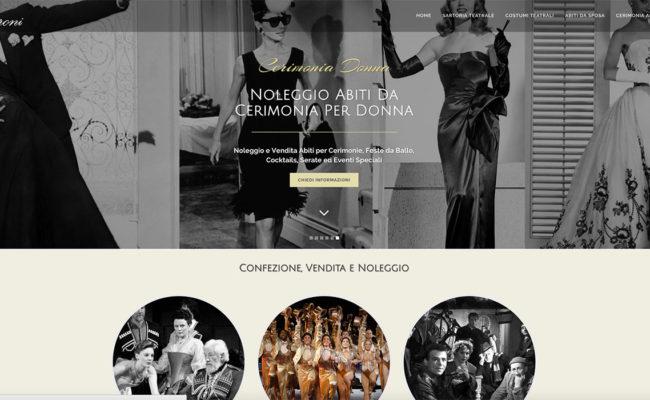 noleggio sito web cerimonia